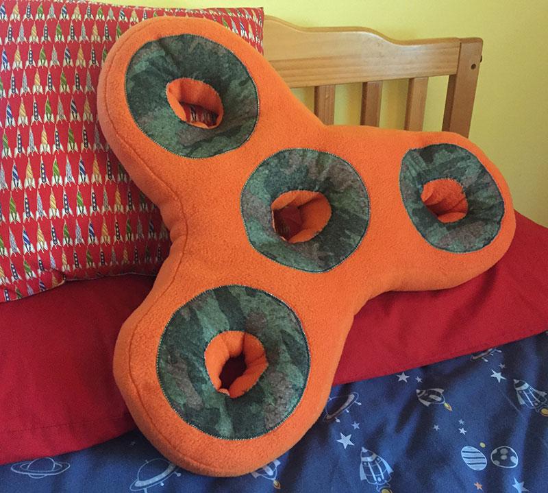 Fidget Spinner Pillows
