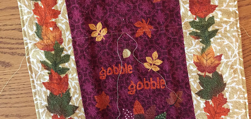 Fall Gathered Towel Topper Tutorial – Craft Picnic